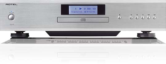 Rotel CD11 CD-Player Silber Aussteller