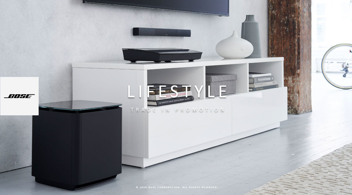 low priced best deals on best Bose Lifestyle Trade-In 2018 | Knicker & Wortmann