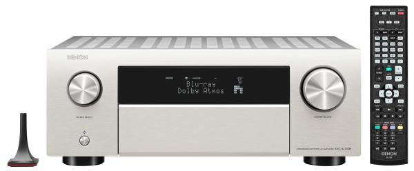 Denon AVC-X4700H 9.2 Kanal 8K AV-Receiver Silber Retoure
