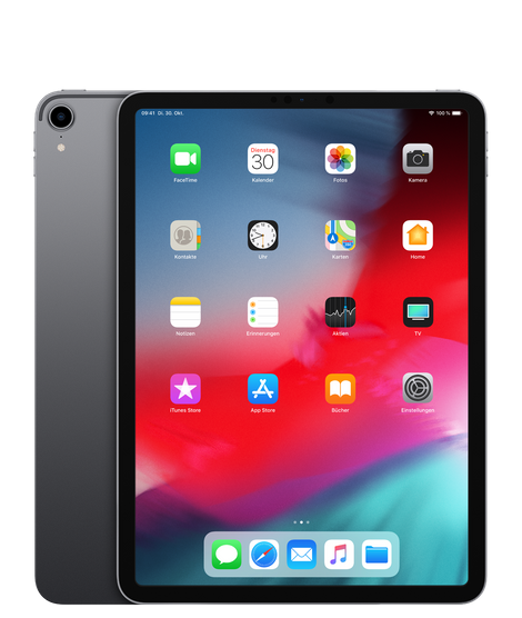 "Apple iPad Pro 11"" Wi-Fi 256GB Space Gray (MTXQ2FD/A) Aussteller (unbenutzt)"