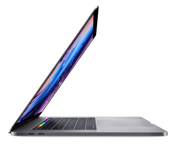 "Apple MacBook Pro 15"" Space Grau (Touch Bar, 256 GB)"