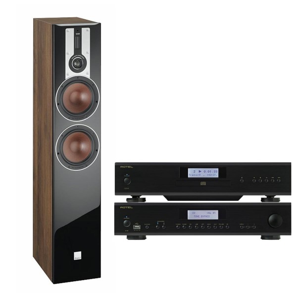 Dali Opticon 6 + Rotel A14 + CD14 HiFi-Paket