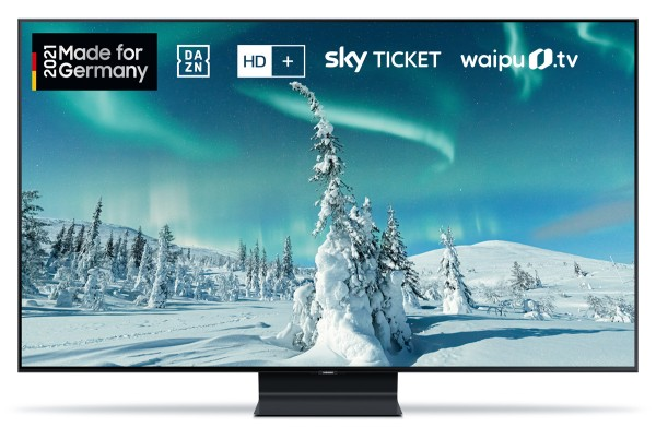 Samsung GQ75Q90T 4K QLED-TV 2020 - Made for Germany