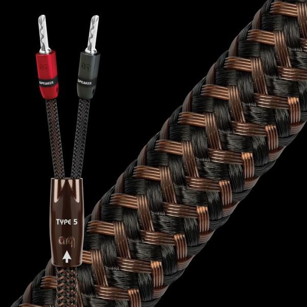 Audioquest Type 5 Lautsprecherkabel 3 m