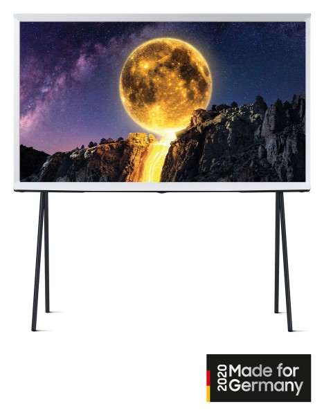Samsung GQ43LS01T The Serif 2020 4K Lifestyle TV Wolkenweiß