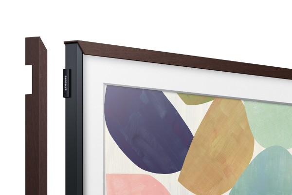 "Samsung THE FRAME individueller Rahmen 75"" Braun - VG-SCFT75BW"