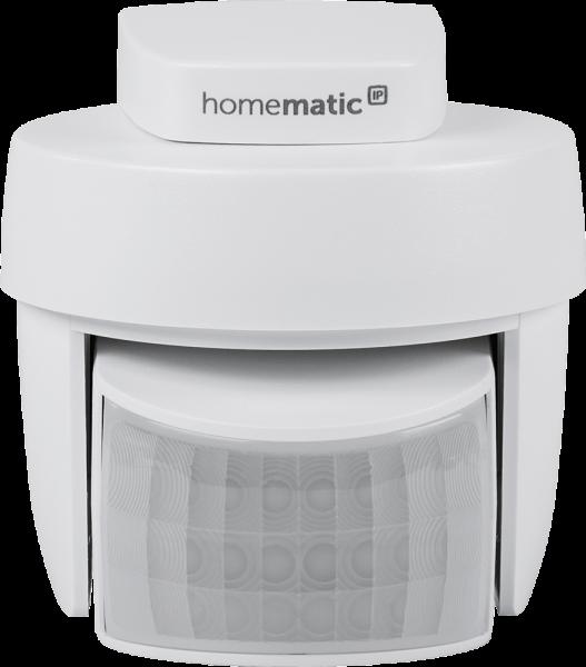 Homematic IP Bewegungsmelder mit Dämmerungssensor - außen