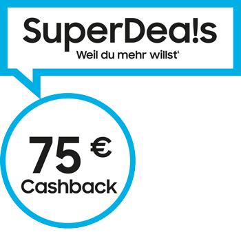 75-cashback Label